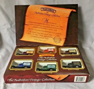 """""""The Australian Vintage Collection"""" Trucks Gift Set Matchbox Limited Edition"""