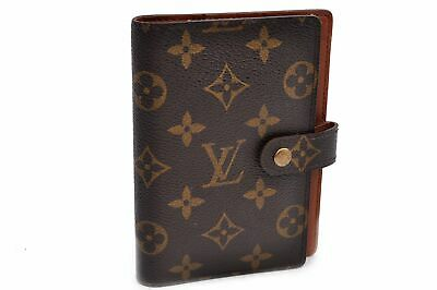 Authentic Louis Vuitton Monogram Agenda PM Day Planner Cover R20005 LV 89619