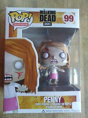 Penny #99 Funko Pop! Vinyl The Walking Dead Rare!! BNIB Vaulted
