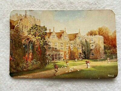 The South Front facing East, Knole, England  Vintage  Postcard