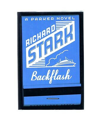 RICHARD STARK ~ PARKER ~ BACKFLASH ~ DONALD E. WESTLAKE ~ 1st Ed in DJ ~ EX.COND