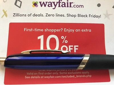 Wayfair.com 10% Off Your First Order Exp 3/31/20 Code Discount Wayfair