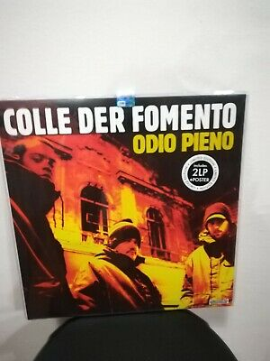 Colle Der Fomento Odio Pieno 2Lp Reissue 2018 Lim.edit. Colored Poster Mint