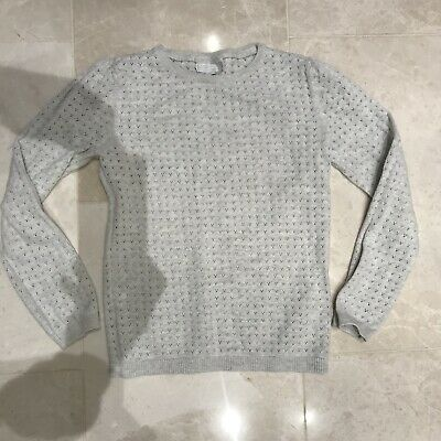 The Little White Company Girls Jumper Size 7-8