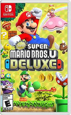New Super Mario Bros. U Deluxe - Nintendo Switch Game Sealed