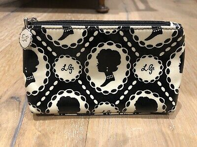 Lulu Guiness Cameo Print Zip Pouch (small)