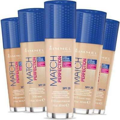Rimmel Match Perfection Foundation 30ml SPF 20 - All Shades Available