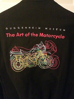 "BMW ""Art of the Motorcycle"" Leather & Wool Jacket (Large)"
