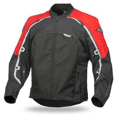 Fly Racing Butane 4 Textile Street Jacket Red 4XL