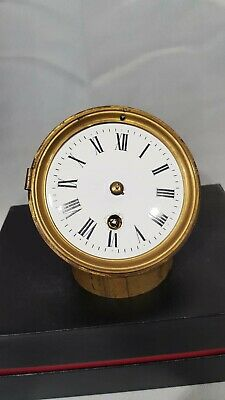 Antique Time Piece Movement - French - Working.
