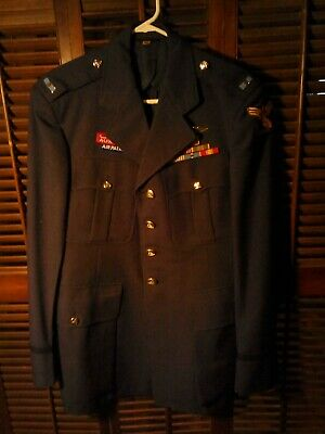 Vintage 50s California civil air patrol uniform with patches and medals. EX
