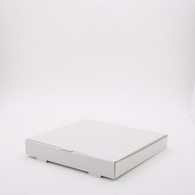 12 inch WHITE Pizza Boxes, Takeaway pizza Box, Strong Quality Postal Boxes
