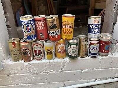 Vintage Beer Cans - Large Lot - Collectable