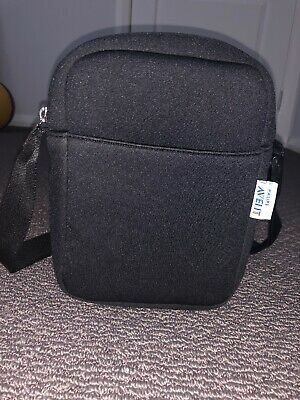 Black Philips Avent Bag To Keep Bottles Warm/Cold With Adjustable Strap