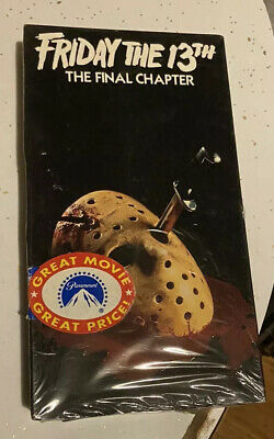 Friday The 13th The Final Chapter Sealed VHS Horror