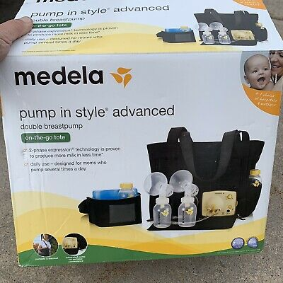 Medela-Pump-In-Style-Advanced Double Electric Breast Pump + The Swing sanitized