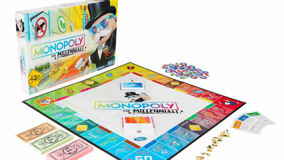 Hasbro Monopoly for Millennials Board Game