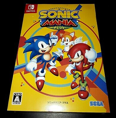 Nintendo  Switch Sonic Mania Plus Limited Edition with Artbook & OST JAPAN