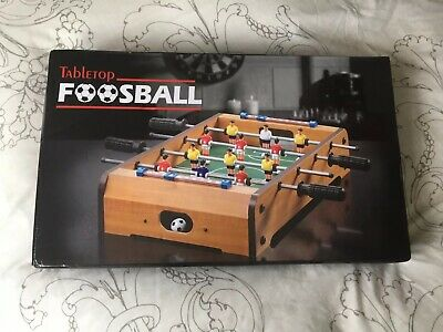 Mini Table Top Football Foosball Players Family Game Toy Kids Play Set Gift New
