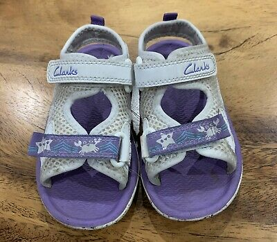 Clarks Girls Summer Sandals Size 6