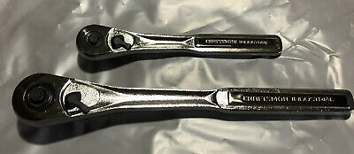 "2 Craftsman Industrial Ratchets 3/8 ""And 1/2 ""Usa Made 36 Teeth Free Shipping"