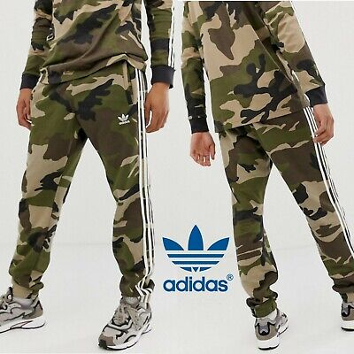 Adidas Originals Mens Pants Camo Superstar Track Trefoil Logo Size Dv2052 New