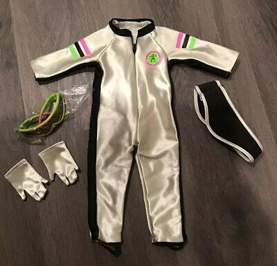 NWOB suit gloves headband Pleasant Company American Girl Downhill Ski Racer