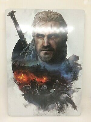 The Witcher 3 Official Steelbook Rare Promo 6 Cd Ps4 / Xbox One
