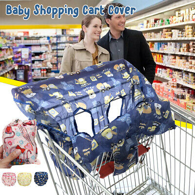 Infant Baby Kids Shopping Trolley Cart Seat High Chair Cover Protector