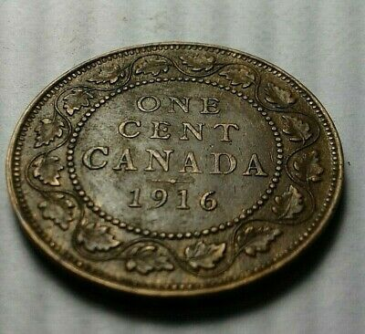 Large Cent Canada ( 1916 )