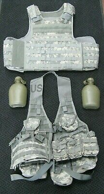 Military Issued Concord Multi-Functional Plate Carrier Vest W/Carrying Equipment