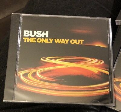 BUSH The Only Way Out CD Promo Limited Gavin Rossdale  From Man On The Run NEW