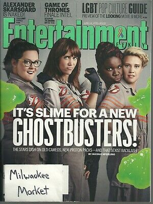 Entertainment Weekly June 24 2016 Ghostbusters LGBT Pop Culture Guide Game Of Th
