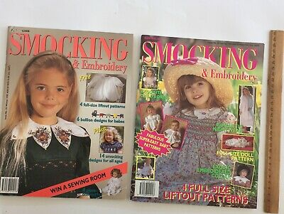 Australian Smocking Embroidery Country Bumpkin 2 Issue 25/26 Pattern Magazine
