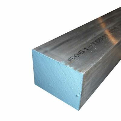"6061 Aluminum Rectangle Bar, 4"" x 6"" x 12"""