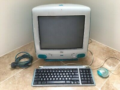APPLE iMac G3/333 PowerPC (Blueberry) in great condition.
