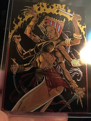 1 Lady Death Chromium Card Set III Subset II Women Of Chaos KALI