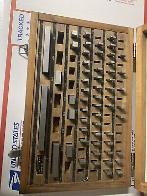 JIT  81 Piece Precision Gage Block InComplete Set Grade B