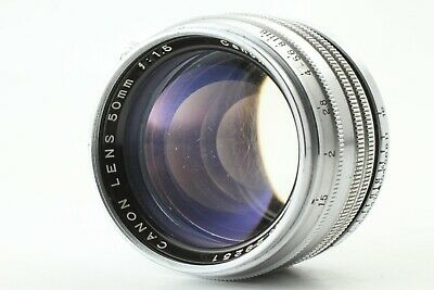 【Excellent+3】 Canon 50mm f/1.5 MF Lens for Leica L39 LTM Screw Mount From Japan