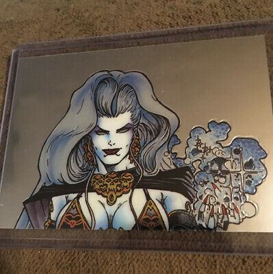2 Lady Death Chromium Cards From Set III An Untold Tale 1 & 2 Of 9