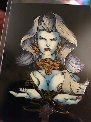 1 Lady Death Chromium Card From Set III Cover Gallery Subset II