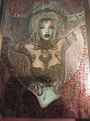 1 Lady Death Chromium Card From Set III Pinup Subset