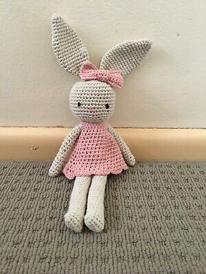 Knitted Bunny Doll