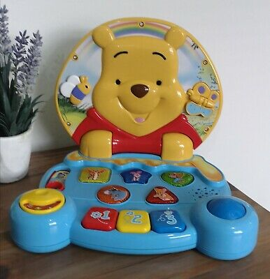 Vtech Disney Winnie The Pooh Play & Learn Laptop  baby toy toddler