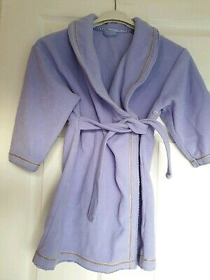 Great Condition Primark Girls Lilac Dressing Gown Age 3-4 Years