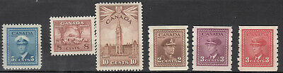 Canada MINT OG Selection of Mid 1900's