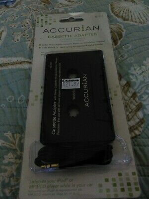 Accurian Cassette Adapter Car SUV Jeep 120-0131