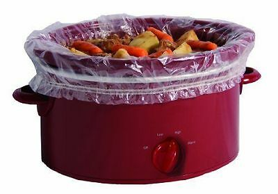Slow Cooker Liner Cooking Liners Plastic Replacement 4pcs Easy Cleaning Kit NEW