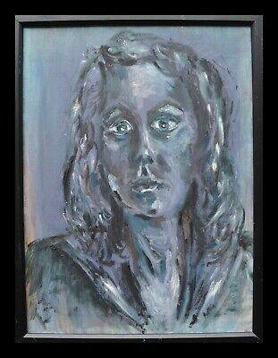 Blues Oil Painting Depression Dejection Melancholy Longing Recovery Hope Desire