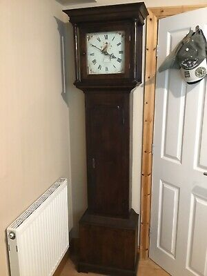 Antique Grandfather Clock C1790 Eight Day  Sold In Good Working Order